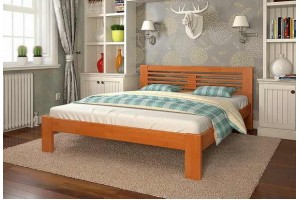 Двоспальне ліжко Арбор Древ Шопен 140х200 сосна (НS140)