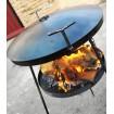 Сковорода діаметром 50 см Декодім з підставкою для вогню (на розбірних ніжках) (SH-PA-16)