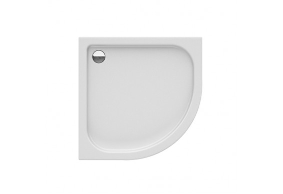 Душовий піддон NEW TRENDY DOMIO 80x80x16 см (B-0349)