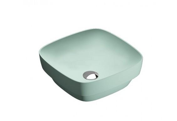 Умивальник на стільницю Catalano Colori Green Lux 40 зелений (140AGRLXVS)