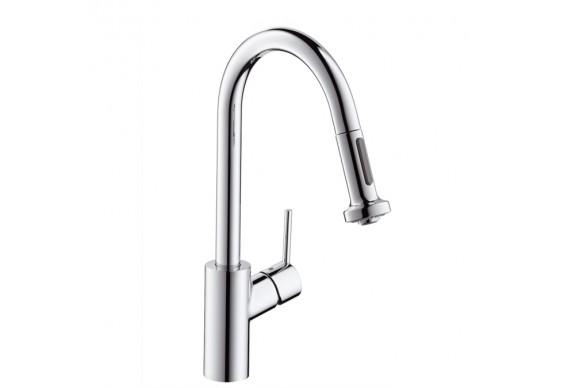Змішувач для кухні Hansgrohe Talis S2 Variarc високий з витяжним душем (14877000)