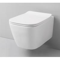 Підвісний унітаз ArtCeram A16, glossy white (ASV0010100)