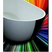 Ванна Riho Dua 180x86 см White-Sikkens Color (BD01XXX)