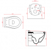 Підвісний унітаз ArtCeram Blend, white (BLV0010100)
