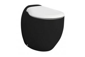 Підлоговий унітаз ArtCeram Blend, black white (BLV0020150)