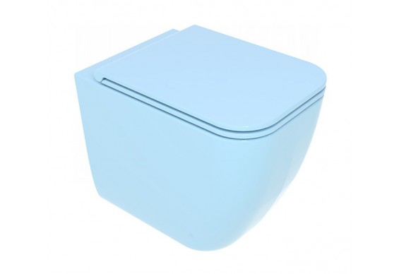 Унітаз підлоговий GSG BRIO 52,5 см Smart Clean glossy Sky (BRWC01022)