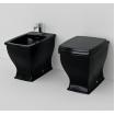 Підлоговий унітаз ArtCeram Blues, glossy black (BUV0020300)