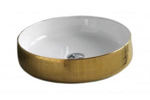 Умивальник на стільницю ArtCeram Cognac 48, gold mosaic (COL0020159)