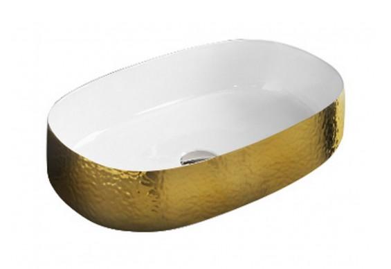 Умивальник на стільницю ArtCeram Cognac 55, gold orange (COL0030160)