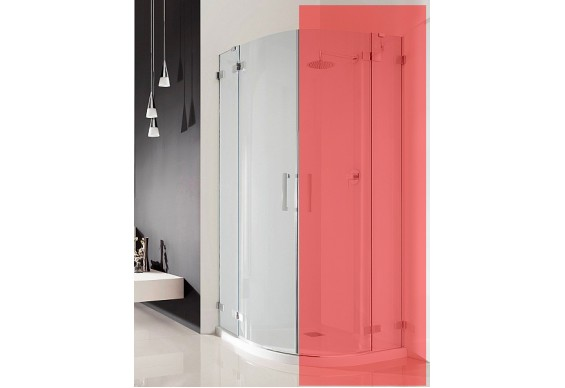 Ліва частина душової кабіни Radaway Euphoria PDD 80 (383002-01L)