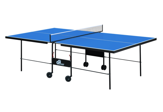 Стіл для настільного тенісу GSI-sport Compact Strong 274x152,5x76 см Blue