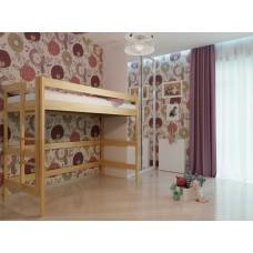 Двоярусне ліжко НеоМеблі Горище 90х200 (NM36)