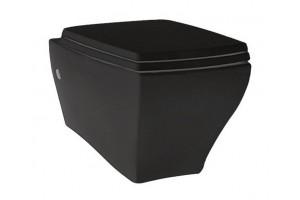 Підвісний унітаз ArtCeram Jazz, glossy black (JZV0010300)