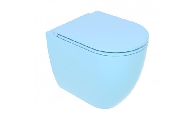 Унітаз підлоговий GSG LIKE 52,5 см Smart Clean matt Sky (LKWC01023)