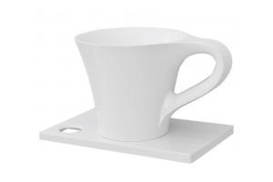 Умивальник на стільницю ArtCeram Oneshot cup, white (OSL0050100)