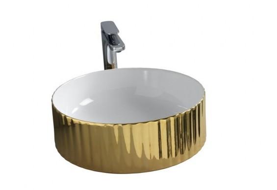 Умивальник на стільницю ArtCeram Millerighe, gold (OSL0100156)
