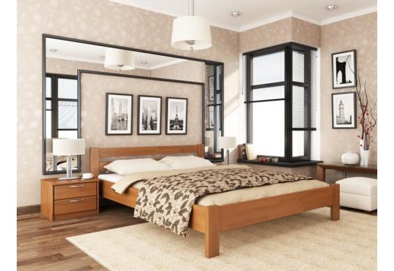 Односпальне ліжко Естелла Рената 120х200 буковий масив (OL-24)