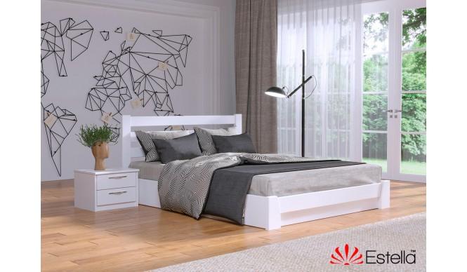 Двоспальне ліжко Естелла Селена 140x200 буковий масив (EST-66)