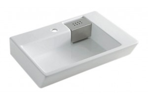 Підвісний умивальник ArtCeram Fuori schema, white (TFL0080100)