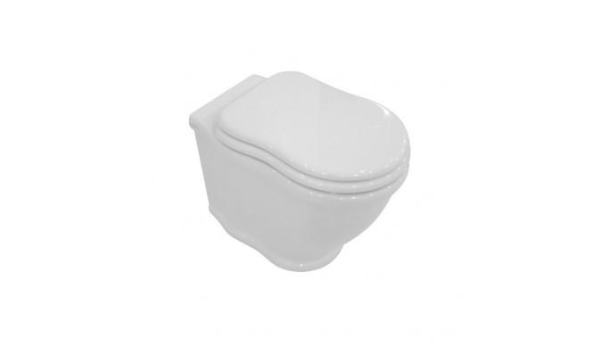 Підвісний унітаз GSG TIME 54 см white glossy (TIWC01000)