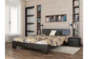 Двоспальне ліжко Естелла Титан 140х190 буковий щит (DV-37.2)