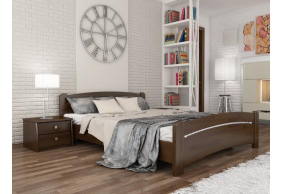 Односпальне ліжко Естелла Венеція 80х190 буковий масив (OL-04)