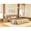 Двоспальне ліжко Естелла Венеція Люкс 160х200 буковий щит (DV-14)