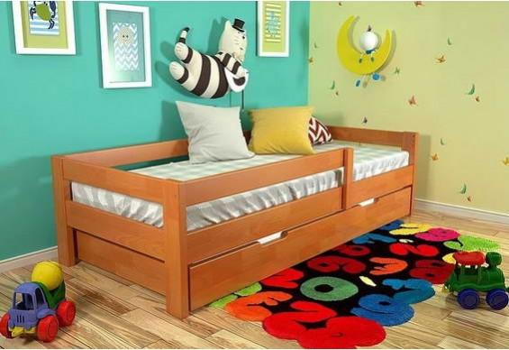 Дитяче ліжко Арбор Древ Альф 80х190 сосна (RS80)