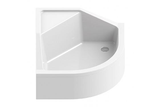 Душовий піддон NEW TRENDY ANGUS з сидінням 90x90x29 см (B-0362)