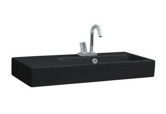 Підвісний умивальник ArtСeram Block, glossy black (BKL0020300)