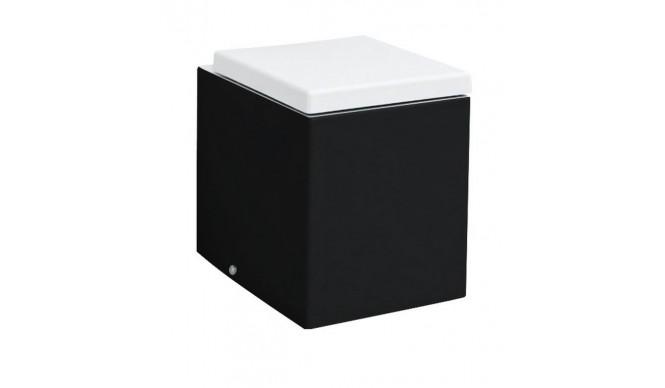 Підлоговий унітаз ArtCeram Block, black white (BKV0020150)
