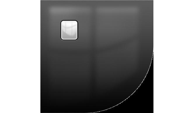 Душовий піддон Riho Basel 451 900х900, чорний глянцевий (DC9816)