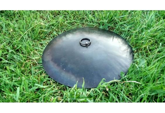 Кришка для мангалу-сковороди ДекоДім діаметром 40 см (SH-PA-07)