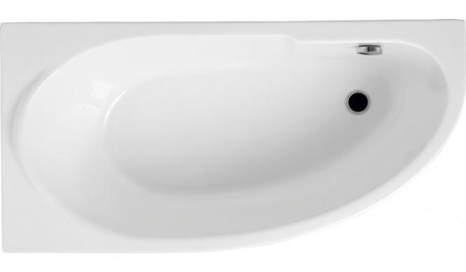 Ванна Polimat Miki асиметрична 145х85, L + ніжки (00421)