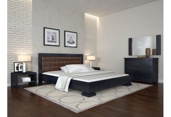 Двоспальне ліжко Арбор Древ Монако 180х200 сосна (MM180)