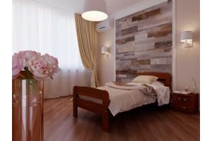 Односпальне ліжко НеоМеблі Октавія С2 90х190 (NM8)