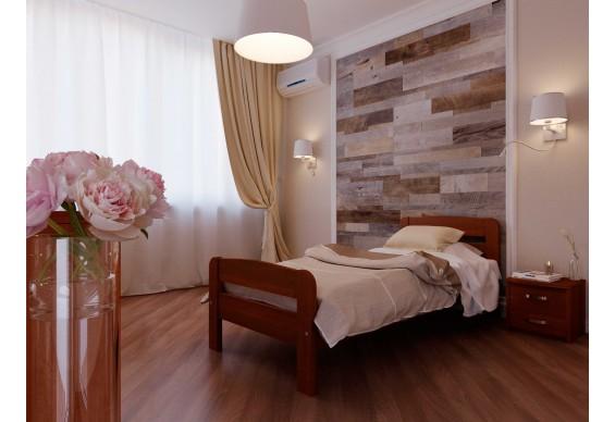 Односпальне ліжко НеоМеблі Октавія С2 90х200 (NM8/200)