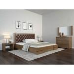 Двоспальне ліжко Арбор Древ Регіна Люкс з підйомним механізмом ромб 180х200 сосна (DH180)