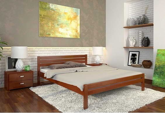 Односпальне ліжко Арбор Древ Роял 120х190 сосна (RS120.2)