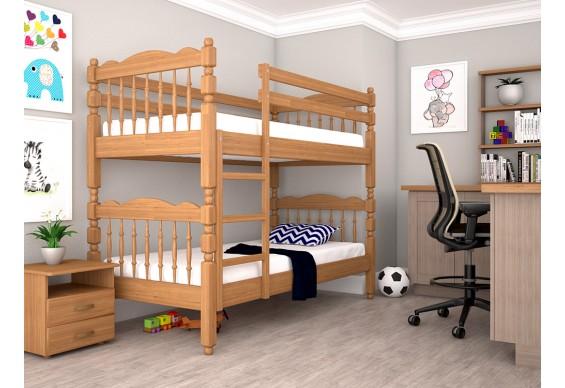 Двоярусне ліжко ТИС Трансформер 2 80x190 дуб (TS11)