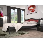 Двоспальне ліжко ТИС Юлія 2 160x200 бук (TYS332)