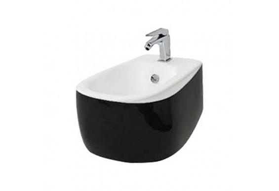 Підвісне біде ArtСeram Azuley, black white (AZB0010150)