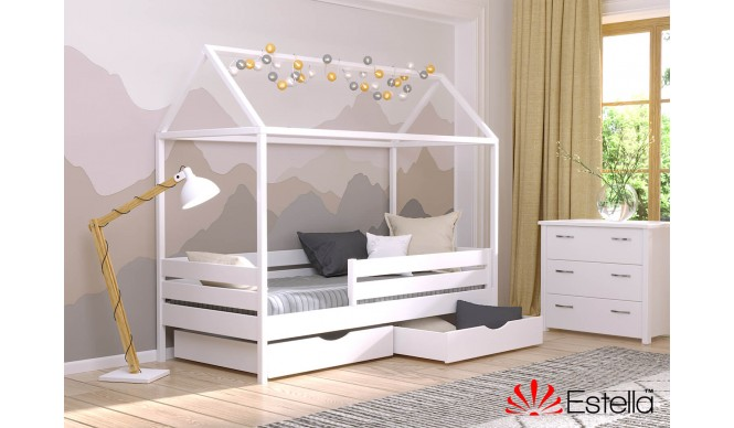 Двоярусне ліжко Естелла Аммі 80х200 буковий масив (EAMMI-32)