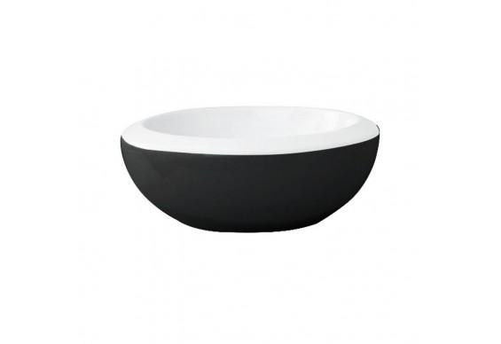 Умивальник чаша ArtСeram Blend, black white (BLL0010150)