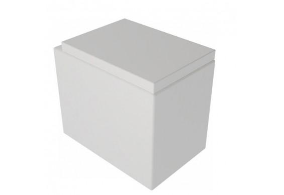 Підлоговий унітаз GSG BOX 53 см white matt (BXWC01001)