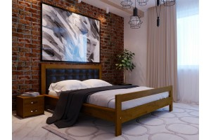 Двоспальне ліжко НеоМеблі Цезар 160х200 (NM31/200)
