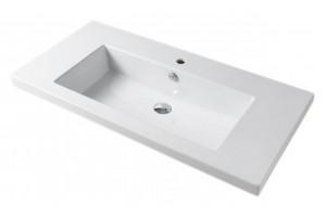 Врізний умивальник ArtCeram Gap 106, white (GPL0010100)