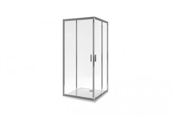 Душова кабіна EXCELLENT Seria 201 квадратна 90x90 розсувна (KAAC.1802.900)
