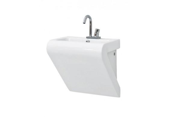 Підвісний умивальник ArtCeram La Fontana, matt white (LFL0020500)