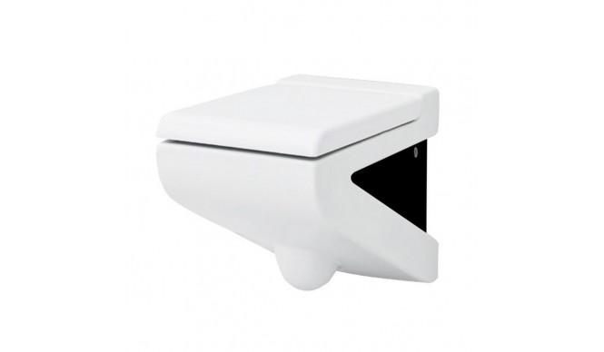 Підвісний унітаз ArtCeram La Fontana, black white (LFV0010150)